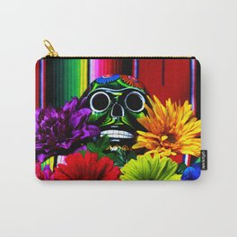 Day of the Dead Skull Carry-All Pouch