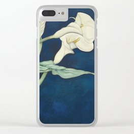 Charles Demuth - Calla Lilies Clear iPhone Case
