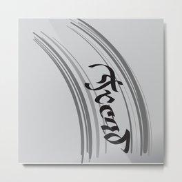 Tread Metal Print