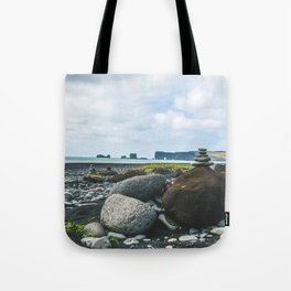 Coastal Stacks Tote Bag