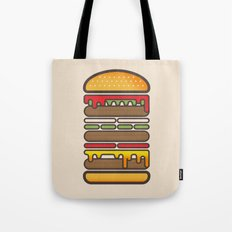 All On A Sesame Seed Bun Tote Bag