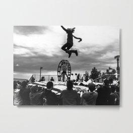 Fairgrounds Metal Print
