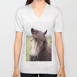 Welsh Horse Unisex V-Neck