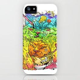 Maneki-Neko Noodles  iPhone Case