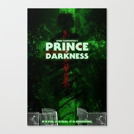 Prince of Darkness Canvas Print