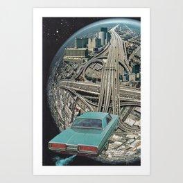 1964 Thunderbird Art Print