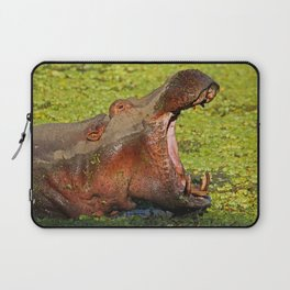 Hippo Boss, Africa wildife Laptop Sleeve