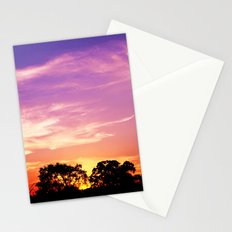 East Texas Sunset Stationery Cards