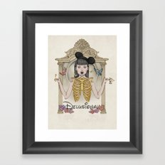 Delusional Framed Art Print