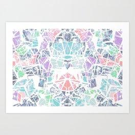 Tropical Geometry Art Print