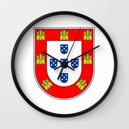 Portuguese escudo Wall Clock