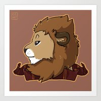gryffindor Art Prints featuring Gryffindor by Clair C