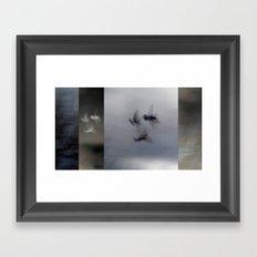 Into the Light of the Dark Black Night - Polyptych Framed Art Print