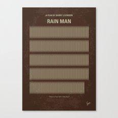 No602 My Rain Man minimal movie poster Canvas Print