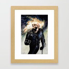 Firehazard Framed Art Print