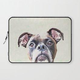 Brindle Boxer Dog Laptop Sleeve