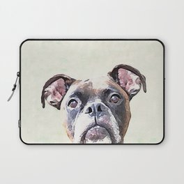 Brindle Boxer Dog Laptop Sleeve