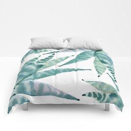 Desert Succulents Comforters