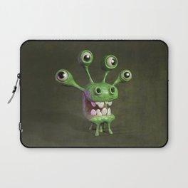Four-eyed monster Laptop Sleeve