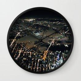 NYC Night Life Wall Clock