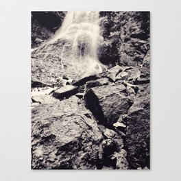 Water fall, Colorado Canvas Print