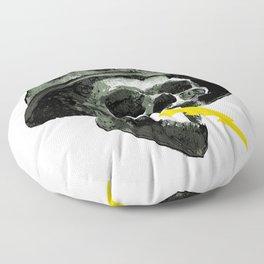 General's Skull Floor Pillow