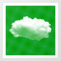 cloud Art Prints featuring Cloud by Mr and Mrs Quirynen