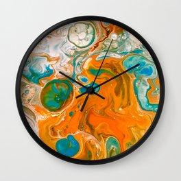 Pele Flow Wall Clock
