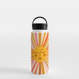 Sunshine – Retro Ochre Palette Water Bottle