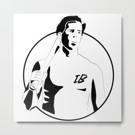 Donny - The Basterds Metal Print