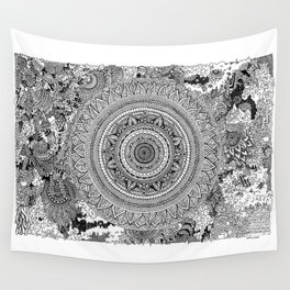 Ancient Ruins Wall Tapestry
