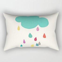 Sunshine and Showers Rectangular Pillow