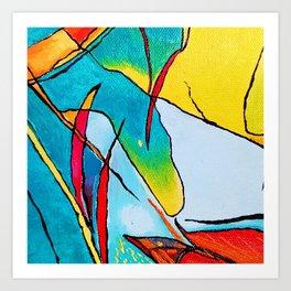 Abstract - Micro Art Art Print