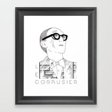 Le Corbusier Framed Art Print