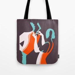 Retro style Art Deco French fashion ad Tote Bag