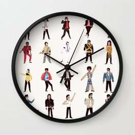 King of Outfits Wall Clock