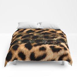 Leopard Shadow Comforters