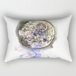 Star War Art Painting The Death Star Rectangular Pillow