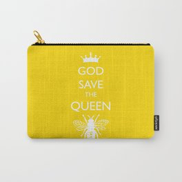 God Save the Queen (Bee) Carry-All Pouch