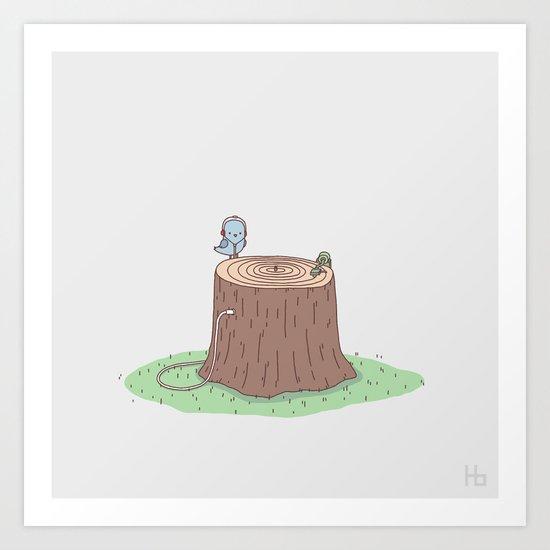 Sweet Sounds Of Nature Art Print