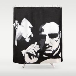 The Godfather - Secrets Shower Curtain