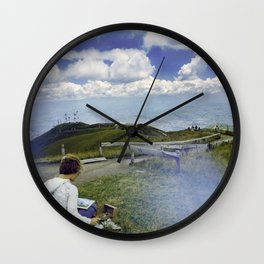 Quito Painter Wall Clock