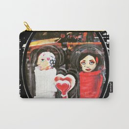Two Girls Frenemies Carry-All Pouch