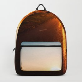 Sunset Travels Van (Color) Backpack