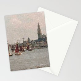 Antwerp Harbour Stationery Cards