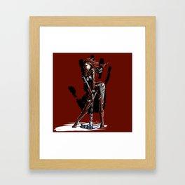 Listener of the Black Hand - Nord Framed Art Print