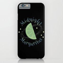 Midnight Margaritas iPhone Case