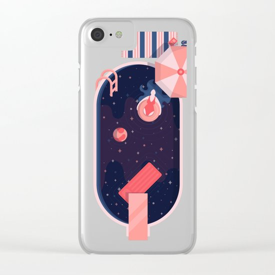 Starbathing Clear iPhone Case
