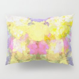 Abstract Spring Pillow Sham