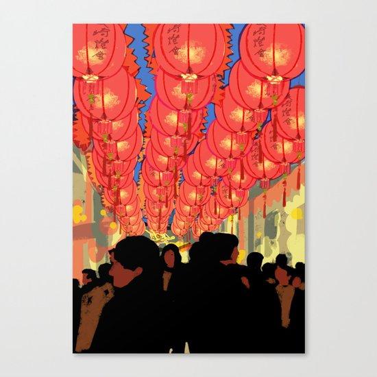 Lantern Festival Canvas Print